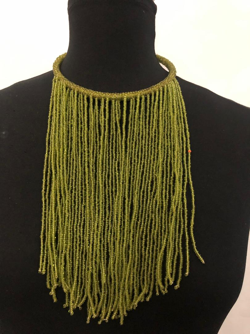 Drip Bead Necklace