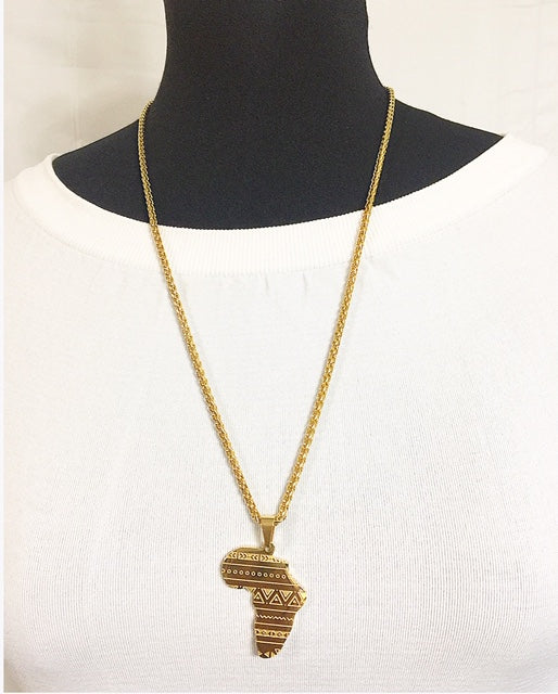 African Chain Necklaces