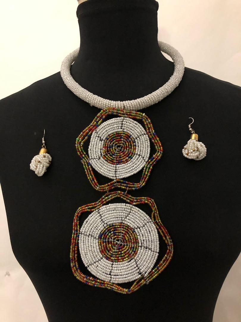 Two Star Massai Necklaces