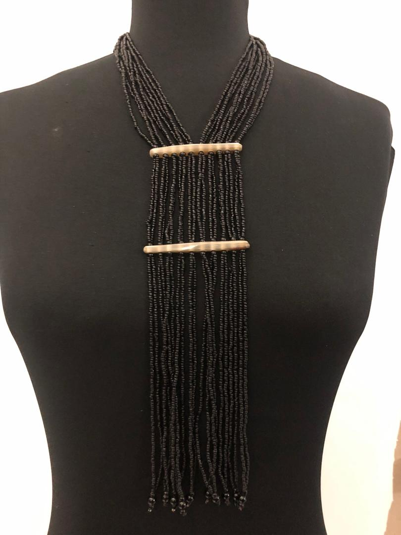 Double Band Drip Necklace