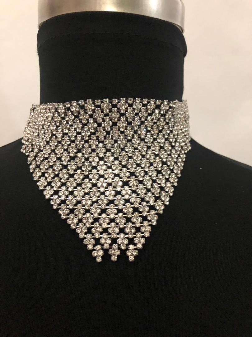 Crystal Deep Fashion Necklace