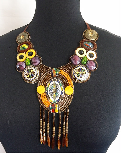 Dobis Rope African Necklace