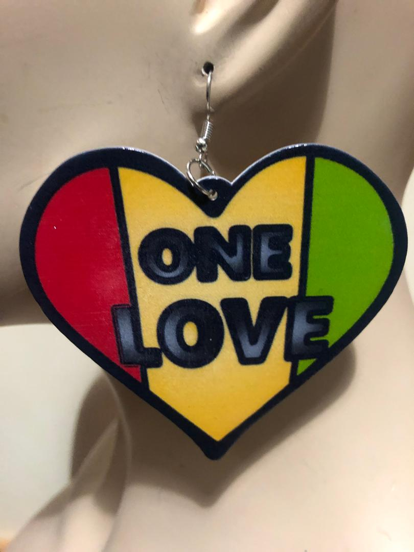 One Love Jamo earring