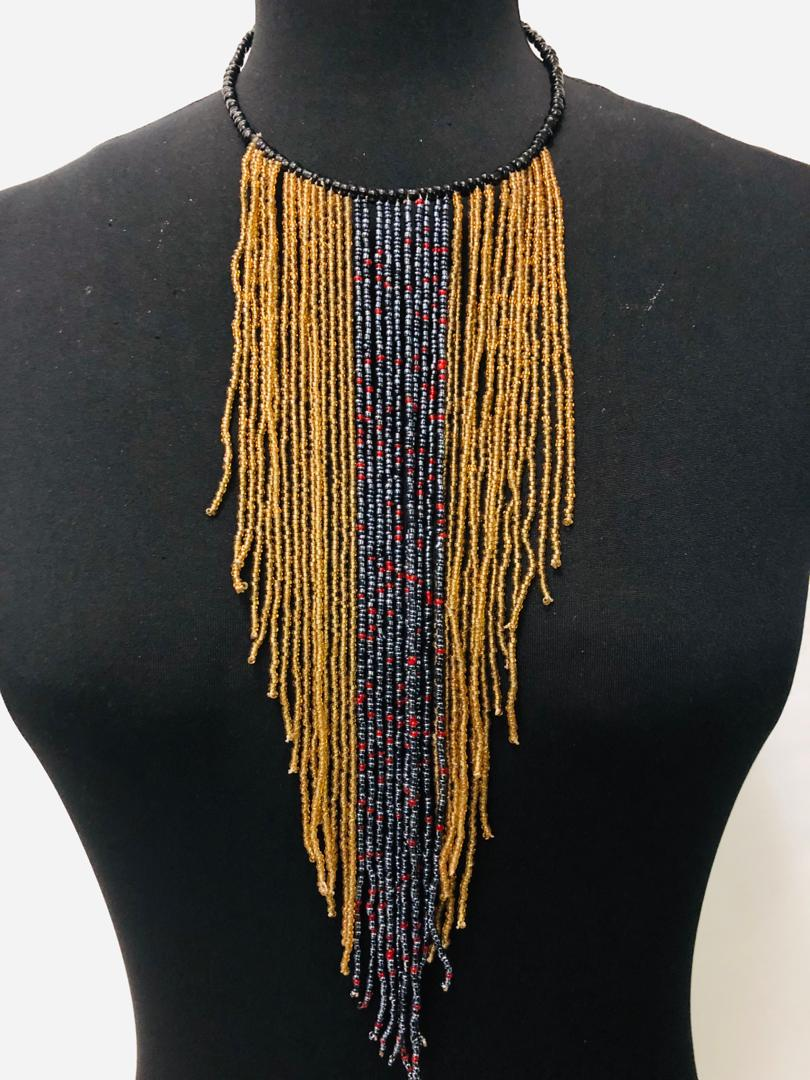 Tone Bead Necklace