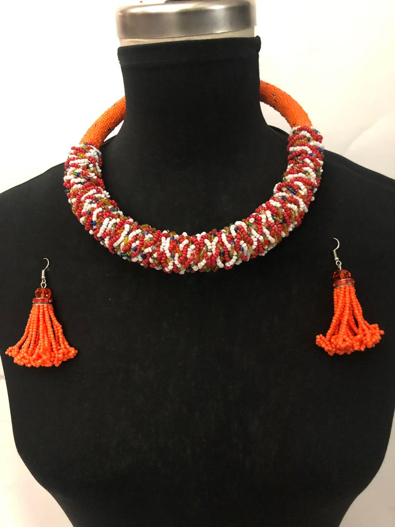 Zawa Massai Necklace Set