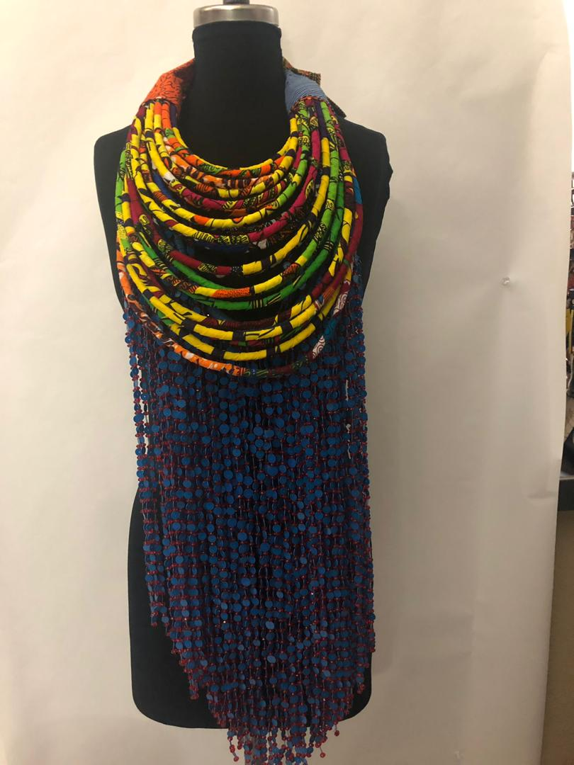Dofi African Beads Necklace
