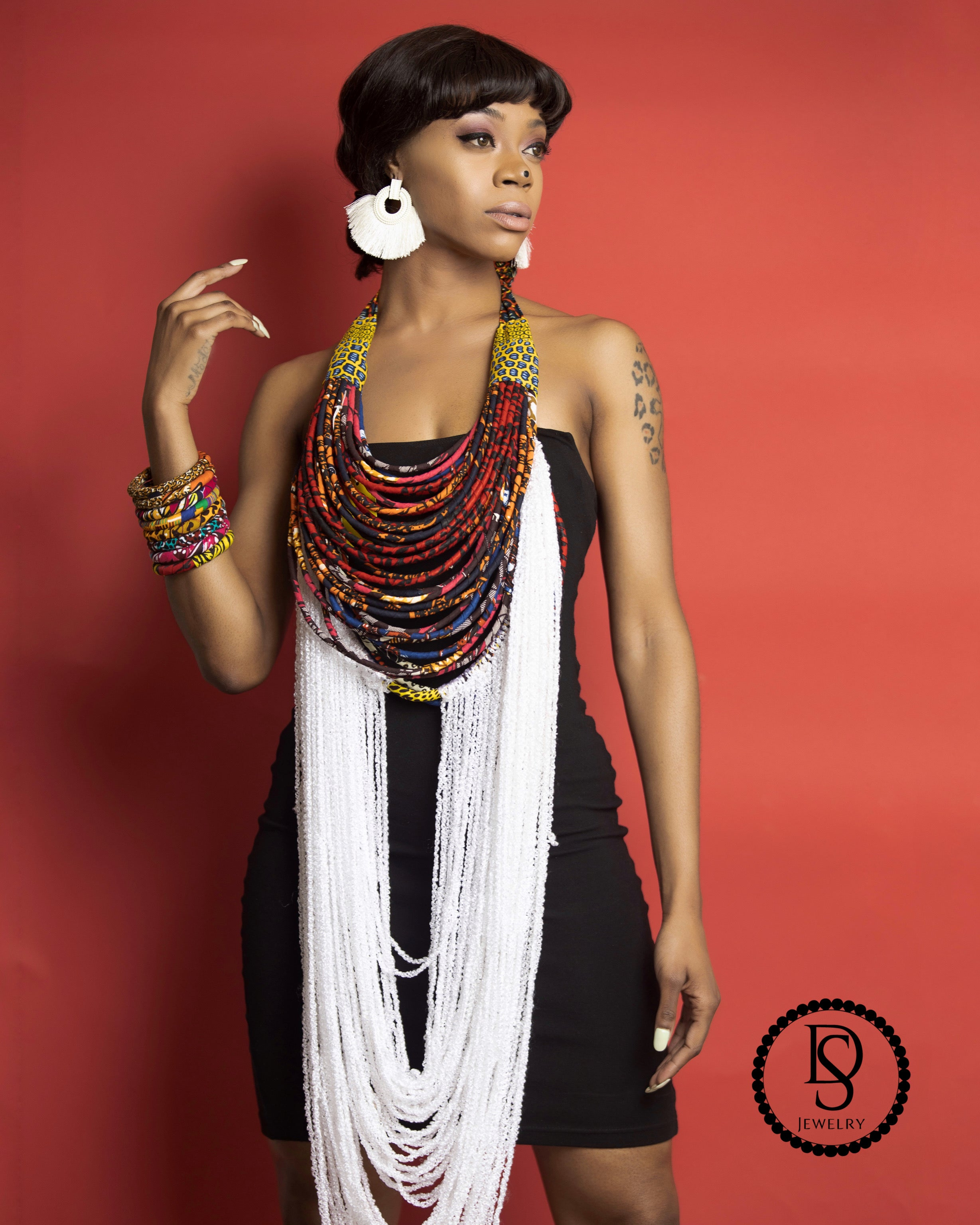 Akello African Necklace