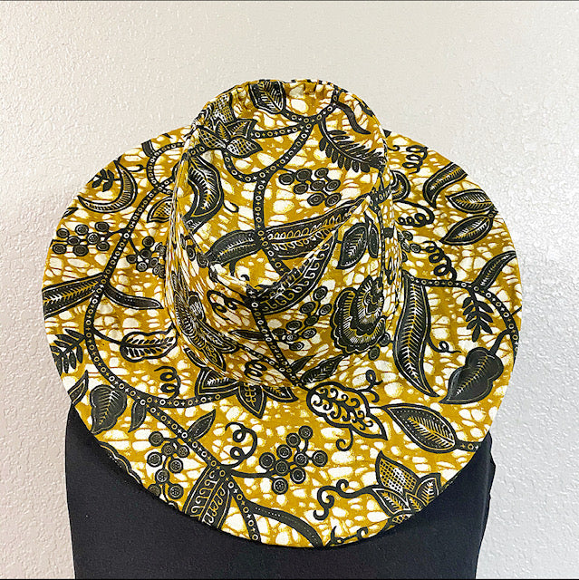 African Fabric Western-Shaped-Hat.jpg