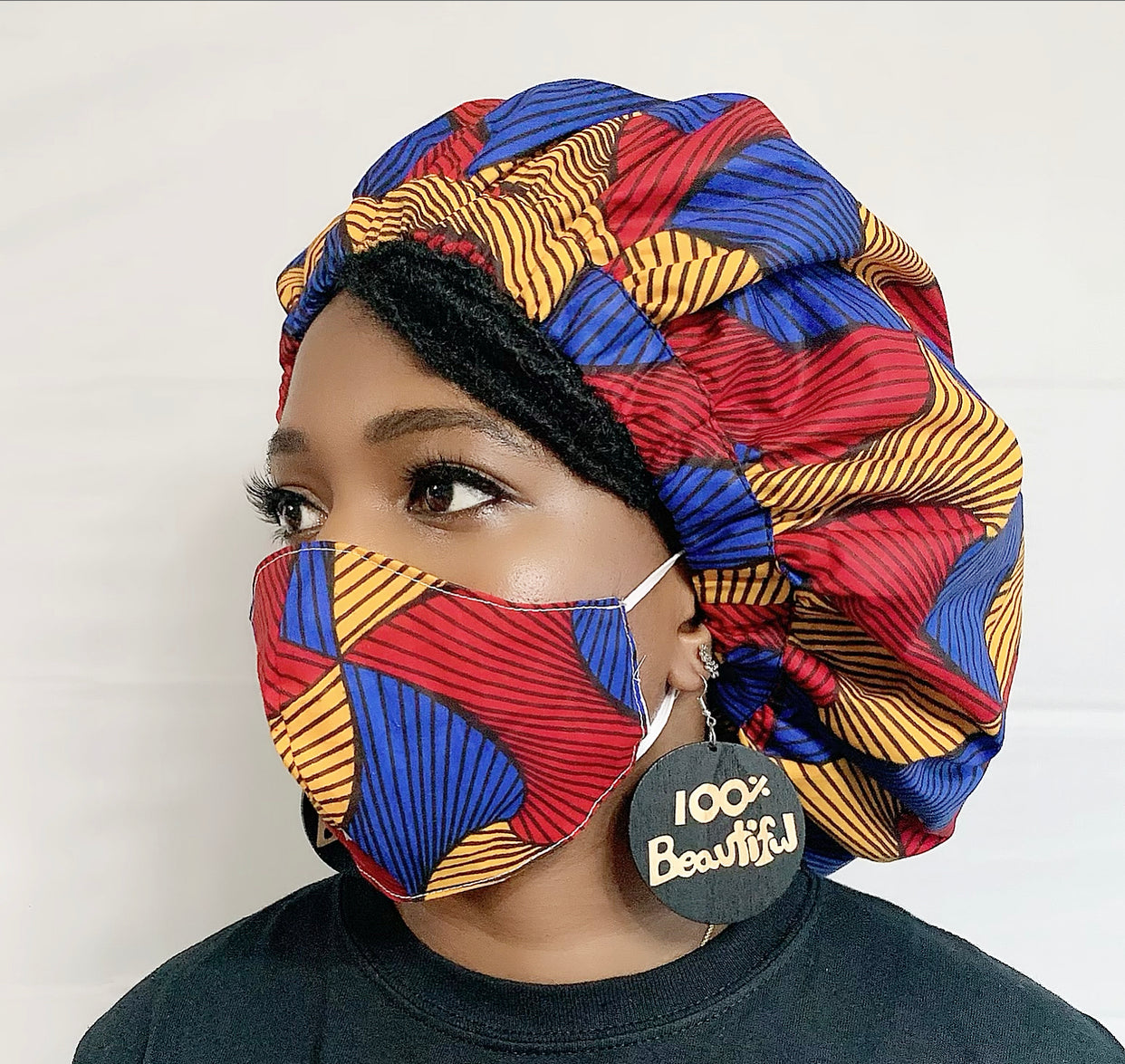 Tunka African Bonnet and Face Mask