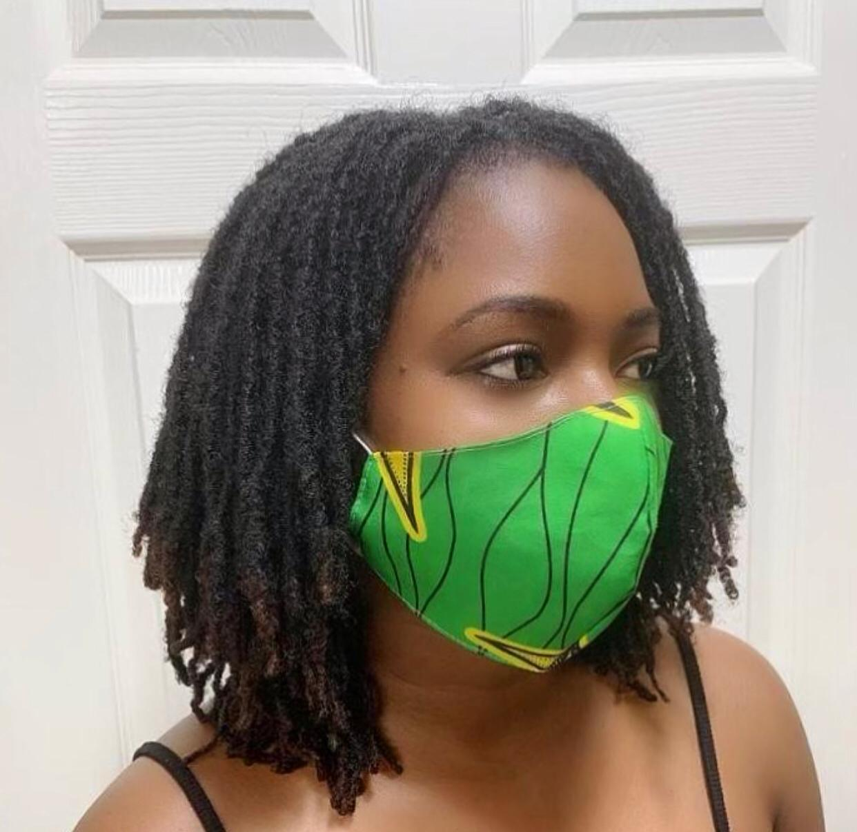 Spring Fabric Face Mask