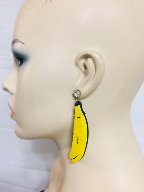 Banana Fashion Earrings