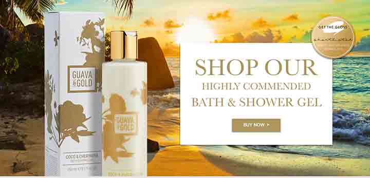 shop our bath and shower gel