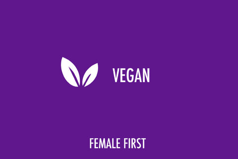 vegan female first products