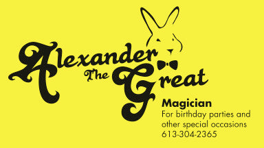 Contact Alexander the Great Magician in Ottawa at 613-304-2365