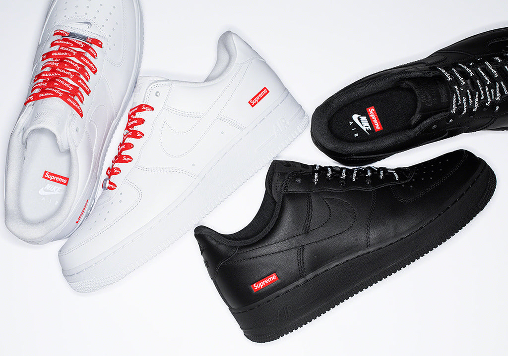 Supreme Nike Air Force 1s will drop every week during this Supreme season!