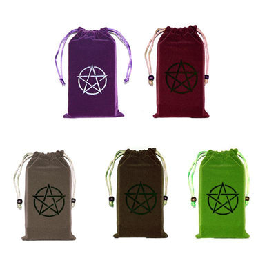 Velvet Pentagram Tarot Bag Tarot Cards MoonChildWorld