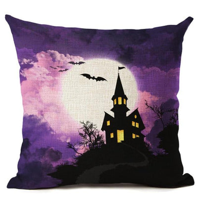 Witch Halloween Pillows Cover Pillow Cover MoonChildWorld 450mm*450mm No-20