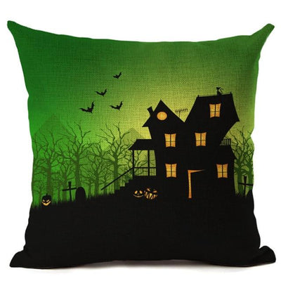 Witch Halloween Pillows Cover Pillow Cover MoonChildWorld 450mm*450mm No-1