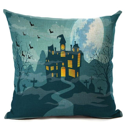 Witch Halloween Pillows Cover Pillow Cover MoonChildWorld 450mm*450mm No-16