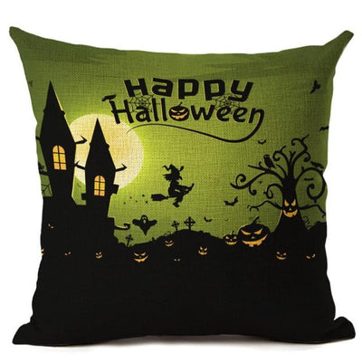 Witch Halloween Pillows Cover Pillow Cover MoonChildWorld 450mm*450mm No-3