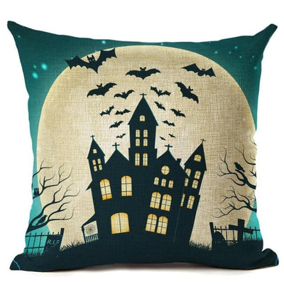 Witch Halloween Pillows Cover Pillow Cover MoonChildWorld 450mm*450mm No-15