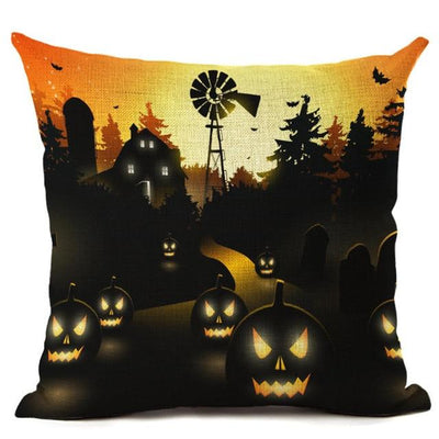 Witch Halloween Pillows Cover Pillow Cover MoonChildWorld 450mm*450mm No-5