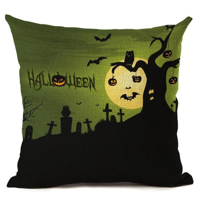 Witch Halloween Pillows Cover Pillow Cover MoonChildWorld 450mm*450mm No-2