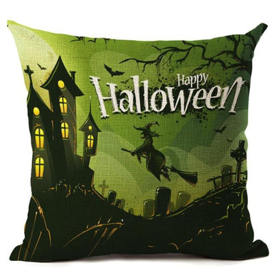 Witch Halloween Pillows Cover Pillow Cover MoonChildWorld 450mm*450mm No-4