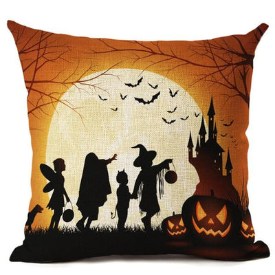 Witch Halloween Pillows Cover Pillow Cover MoonChildWorld 450mm*450mm No-11