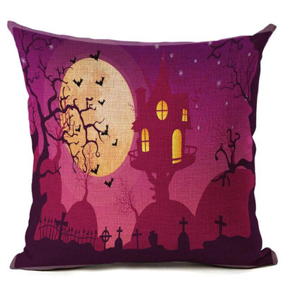 Witch Halloween Pillows Cover Pillow Cover MoonChildWorld 450mm*450mm No-17