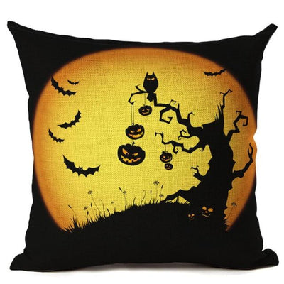 Witch Halloween Pillows Cover Pillow Cover MoonChildWorld 450mm*450mm No-9