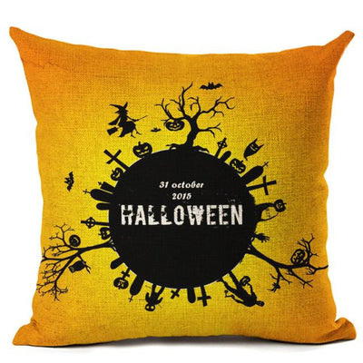 Witch Halloween Pillows Cover Pillow Cover MoonChildWorld 450mm*450mm No-13