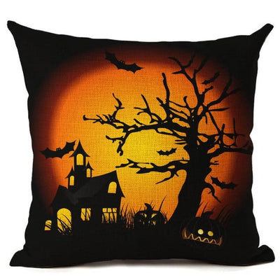 Witch Halloween Pillows Cover Pillow Cover MoonChildWorld 450mm*450mm No-10