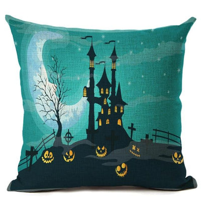 Witch Halloween Pillows Cover Pillow Cover MoonChildWorld 450mm*450mm No-18
