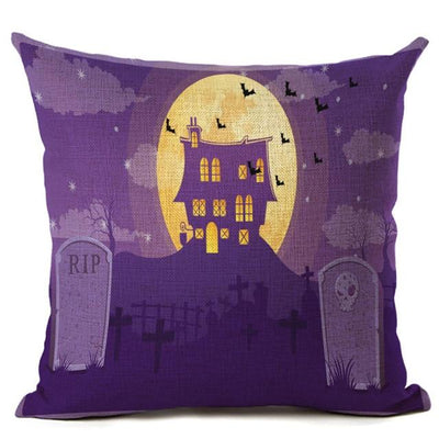 Witch Halloween Pillows Cover Pillow Cover MoonChildWorld 450mm*450mm No-19