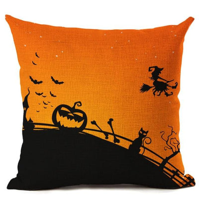 Witch Halloween Pillows Cover Pillow Cover MoonChildWorld 450mm*450mm No-6