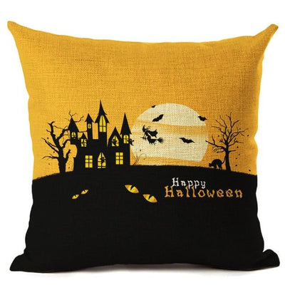 Witch Halloween Pillows Cover Pillow Cover MoonChildWorld 450mm*450mm No-14