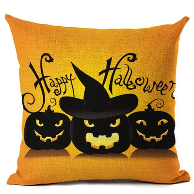 Witch Halloween Pillows Cover Pillow Cover MoonChildWorld 450mm*450mm No-7