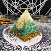 Natural Crystal Orgonite Pyramid Pyramid MoonChildWorld