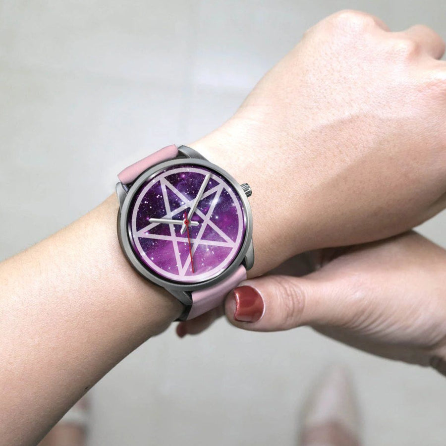 Pentacle wicca watch