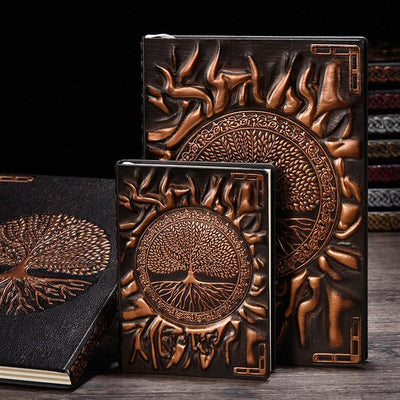Tree Of Life Hardcover Notebook Notebook MoonChildWorld