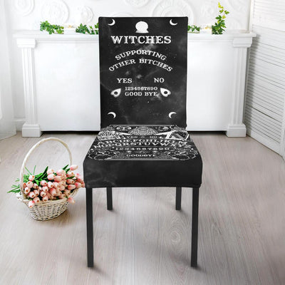 Ouija Witch Chair Slip Cover Chair Slip Cover MoonChildWorld