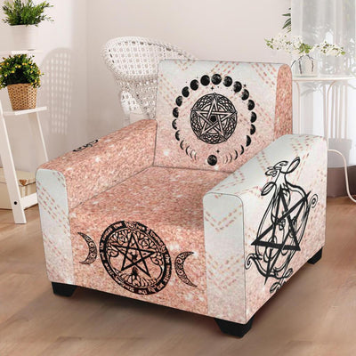 Wicca Chair Slip Cover Chair Slip Cover MoonChildWorld