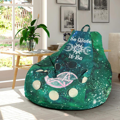 Wicca Bean Bag Chair Bean Bag Chair MoonChildWorld