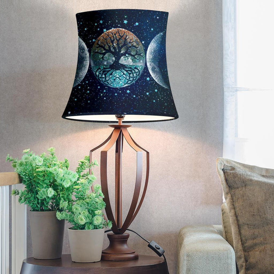 Wicca Drum Lamp Shade Lamp MoonChildWorld