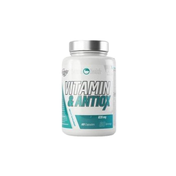 Vitamin & Antiox Natural / • 60 Caps - Vitality Express