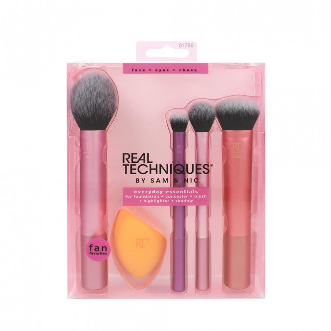 REAL TECHNIQUES Everyday Essentials Set 5 Pack