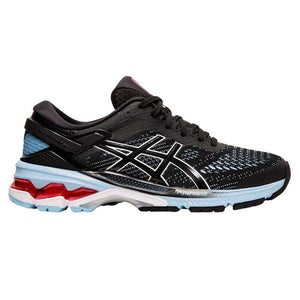 Asics GEL Kayano 26 Womens Running Shoes Black / Blue