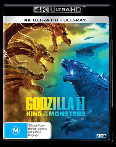 Godzilla 2 - King Of The Monsters | Blu-ray + UHD UHD