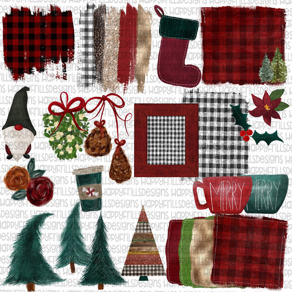Great Big Christmas Element bundle